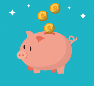graphic of piggy bank savings